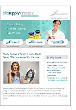 Biosupply Trends Quarterly eNewsletter