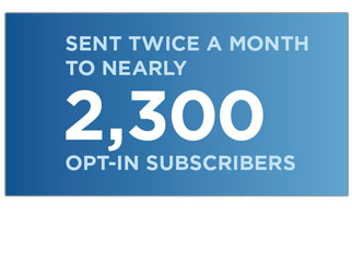 2,400 opt-in subscribers